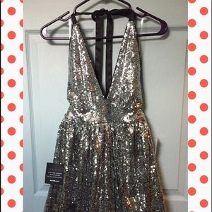 Charlotte Russe Sequin dress small NWT